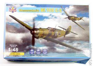1/48 Messerschmitt Bf 109C-3 - Modelsvit