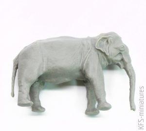 1/48 Asian Elephant (1 figure) - CMK