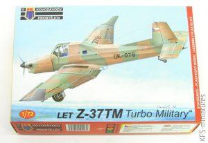 """1/72 Z-37TM """"Turbo Military"""" - KP - Kovozávody Prostějov"""