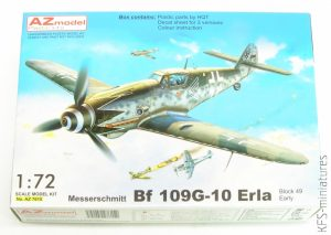1/72 Messerschmitt Bf-109G-10 Erla - Block 49 Early - AZ model