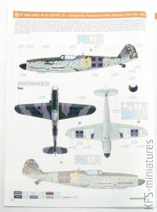 1/48 Bf 109G-10 WNF/Diana - Eduard