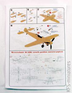 1/72 Messerschmitt Bf 109G-6/U/N4W/FuG350 Naxos - AZ model