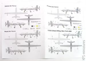 1/144 General Atomics MQ-9 REAPER US UAV Attacker - Miniwing
