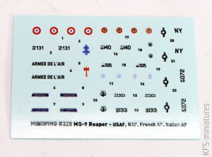 1/144 General Atomics MQ-9 REAPER - Miniwing
