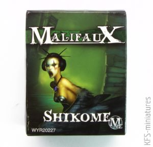 32mm Malifaux SHIKOME - Wyrd Games