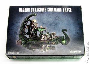 28mm Necron Catacomb Command Barge - Games Workshop