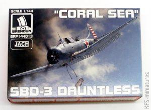 1/144 Douglas SBD-3 Dauntless - Brengun