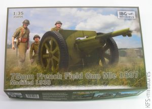 1/35 75mm French Field Gun Mle 1897 Schneider - IBG Models