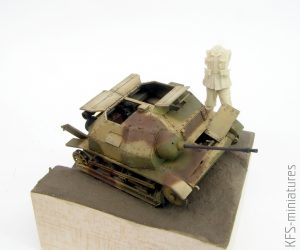 1/35 TKS 20mm – IBG – Wykończenie