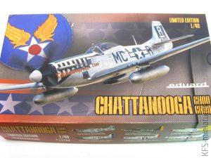 1/48 P-51D-5-NA Mustang Chattanooga Choo Choo - Eduard