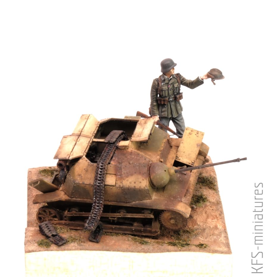 1/35 TKS z 20 mm. Działkiem FK wz.38