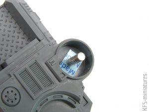 28mm Achilles Ridgerunner - Games Workshop - Magnesowanie i Budowa