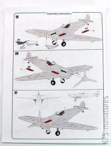 "1/72 Supermarine Spitfire Mk.Vc ""In RAAF service"" - KP - Kovozávody Prostějov"
