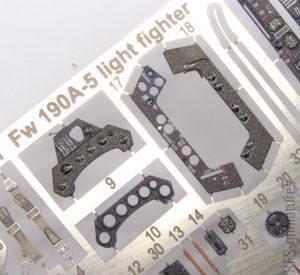 1/48 Fw 190A-5 Light Fighter - Eduard