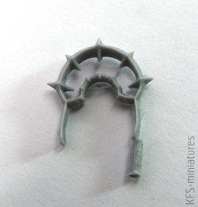 28mm Chaos Warp Caster - Grim Skull