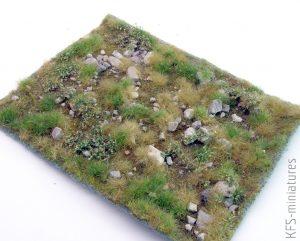 Maty roślinne - Grass matts - Model Scene