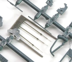 1/48 Fw 190A Pitot tubes early - Eduard