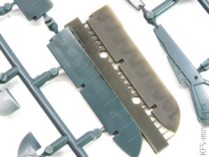 1/48 Fw 190A control surfaces early - Eduard