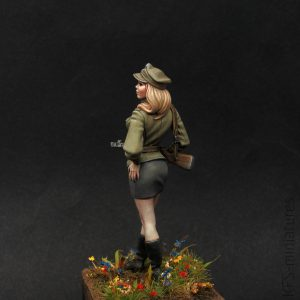 70mm Polish People's Army Pin-up girl