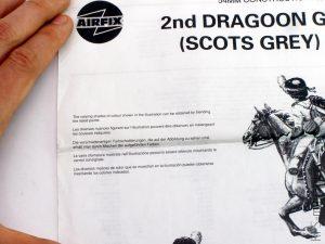 54mm 2nd Dragoon - Scots Grey - Airfix