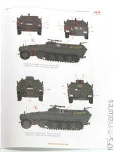 1/35 Sd.Kfz.251/1 Ausf.A with German Infantry - ICM