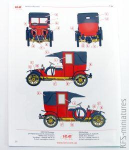 1/24 Type AG 1910 Paris Taxi - ICM
