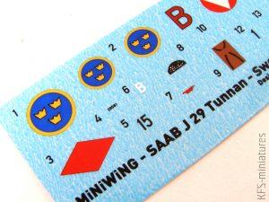 """1/144 SAAB J-29F """"TUNNAN"""" - Miniwing"""