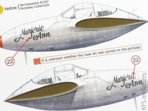 Lightning Strike - P-38F/G - Exito Decals