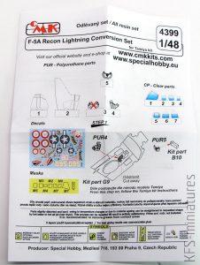 1/48 Recon Lightning - Konwersje - CMK
