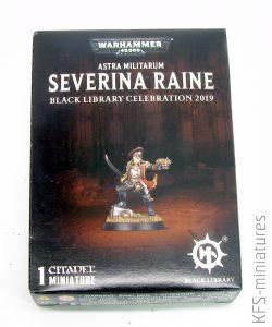 28mm Commissar Severina Raine - Games Workshop