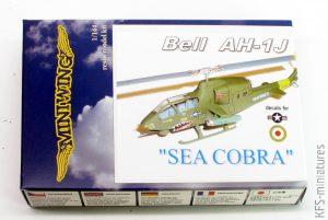 "1/144 Bell AH-1J ""Sea Cobra"" - Miniwing"