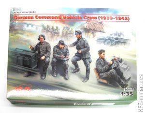 1/35 German Command Vehicle Crew - ICM