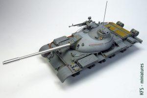 1/35 Chinese Medium Tank Type 59 - Budowa