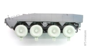 1/35 KTO Rosomak Nokian Sagged Wheel set - DEF Model