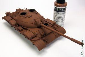 1/35 Chinese Medium Tank Type 59 - Malowanie