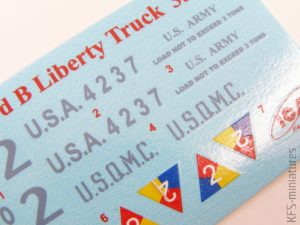 """1/35 WW I US Army Truck Standard B """"Liberty"""" Truck - ICM"""
