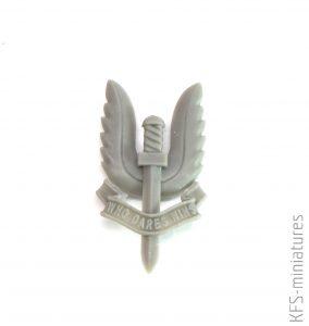 70mm SAS Girl - Valkiria Miniatures