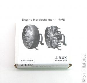 1/48 Nakajima A2N - Dodatki - A.B.&K Models