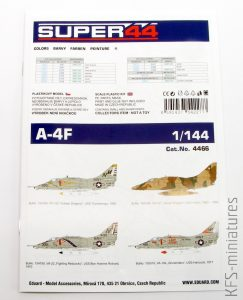 1/144 A-4F - Eduard