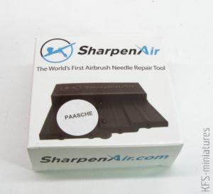 SharpenAir - Ostrzałka do igieł aerografu