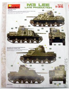 1/35 M3 Lee - Late Production - MiniArt