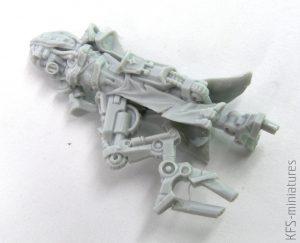 28mm Mechanic Adept Eradicator With Plasma Cannon - Grim Skull