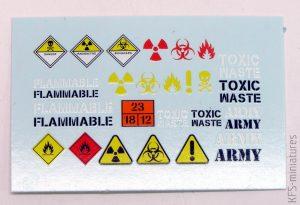 1/35 Toxic & Waste Drum Set - MIG-productions