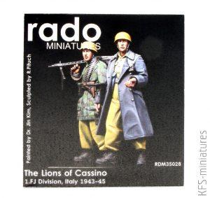 1/35 The Lions of Cassino / 1. FJ Division, Italy 1943-45 - RADO Miniatures