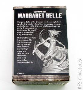 32mm Margaret Belle - Commander- King's Empire - Wyrd Games