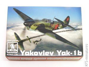 1/72 Yakovlev Yak-1b - Brengun
