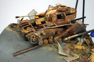 1/35 Pz.Kpfw.IV Ausf.J - malowanie