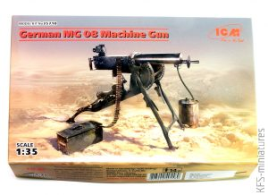 1/35 German MG08 Machine Gun - ICM