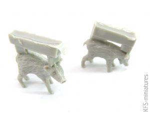 1/35 Animals Set - 14 - Mantis Miniatures