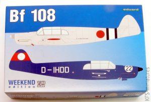 1/48 Bf 108 - Weekend - Eduard